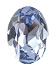 Swarovski 4128 Xilion Oval Fancy Stone 10x8mm Light Sapphire (144 Pieces)